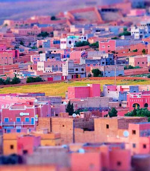 Bourmaine Dades, Morocco - cheap place to fly