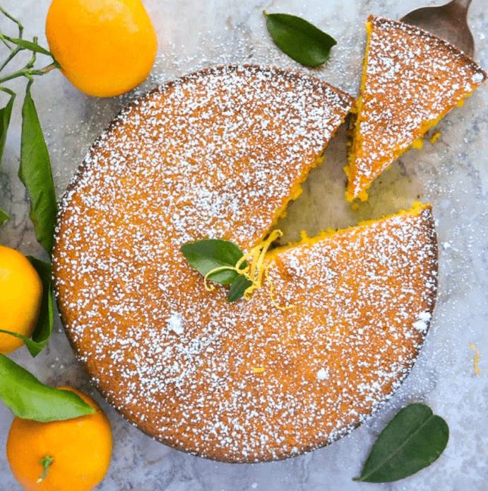 Flourless Whole Tangerine Gluten Free Cake