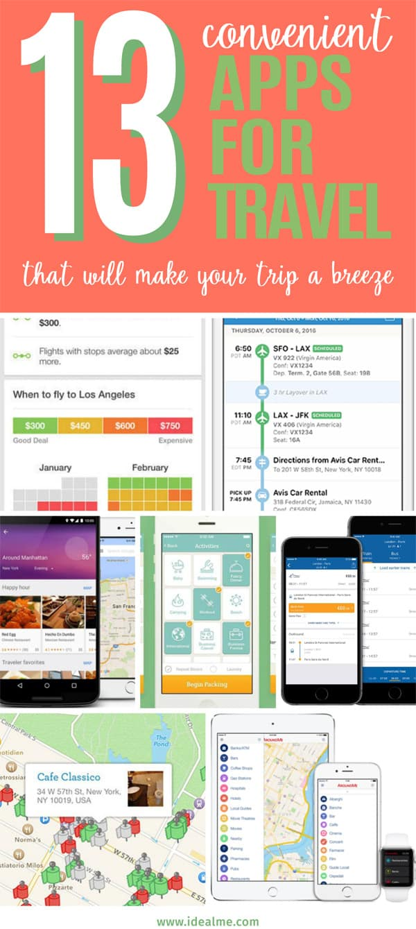 13 convenient apps for travel