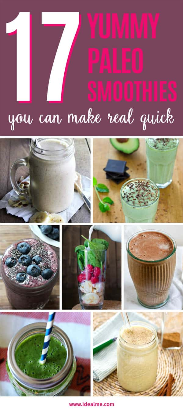 17 Yummy Paleo Smoothie Ideas