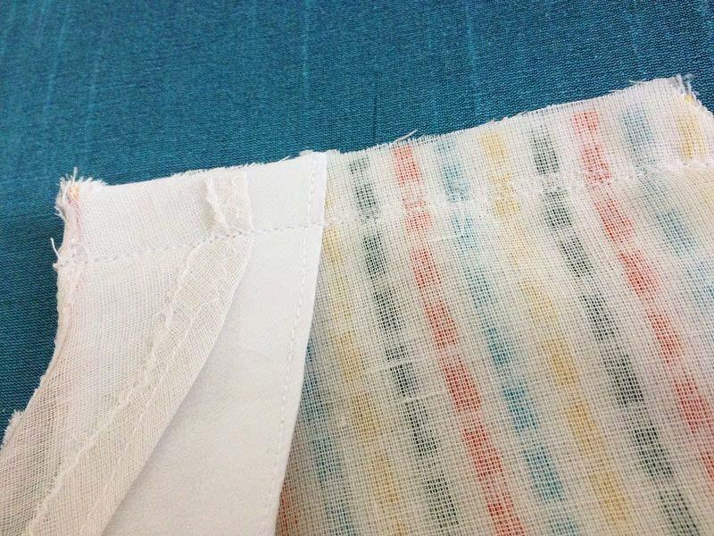 4 ways to faced seams - sewing seams