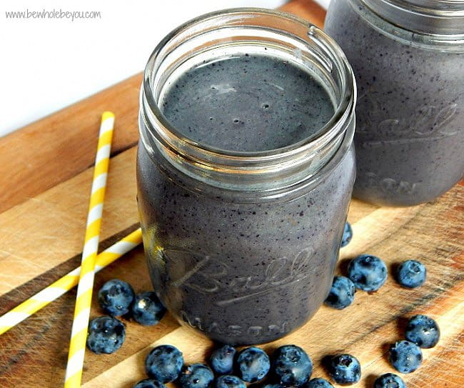 Anti-Inflammatory Blueberry Smoothie - easy smoothie recipes