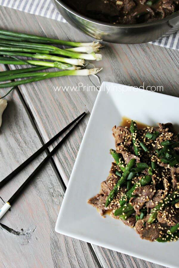 Asparagus Beef Stir Fry - quick paleo recipes