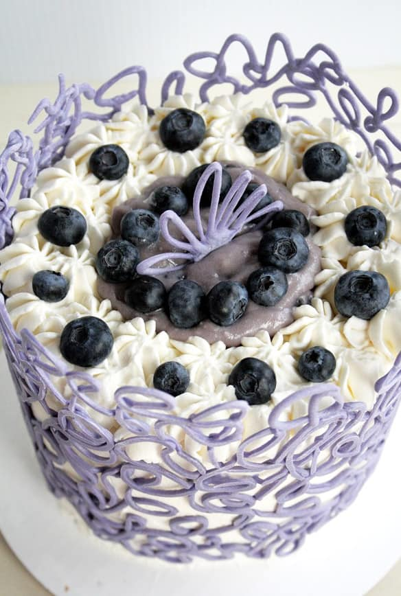 Chocolate Cage - birthday cake decorating ideas