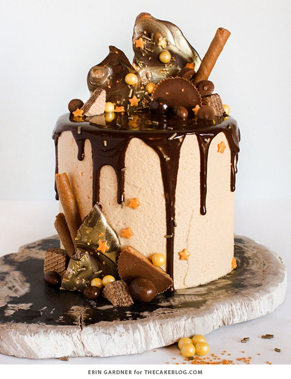 Drippy Ganache - birthday cake decorating ideas