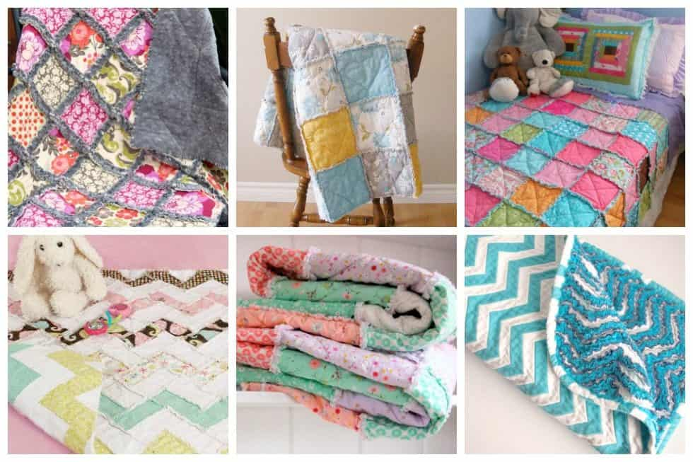 These beautiful rag quiltsend up with a cuddly finish right from the start. Here's our list of 15 easy rag quilts that are perfect for newbie quilters.