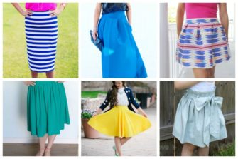 With these 16 easy sew skirt patterns, even beginners can easily create a custom wardrobe that fits well and showcases their unique and personal style.