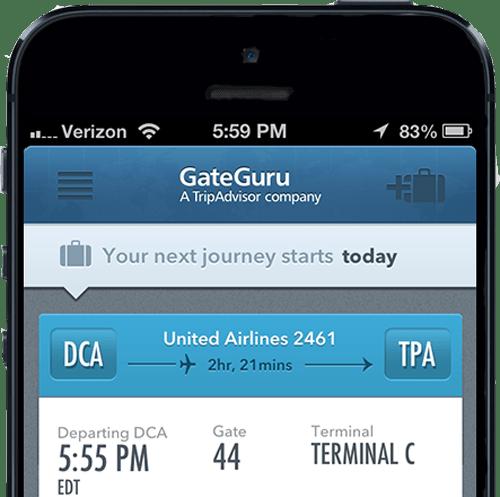Gate Guru - apps for travel