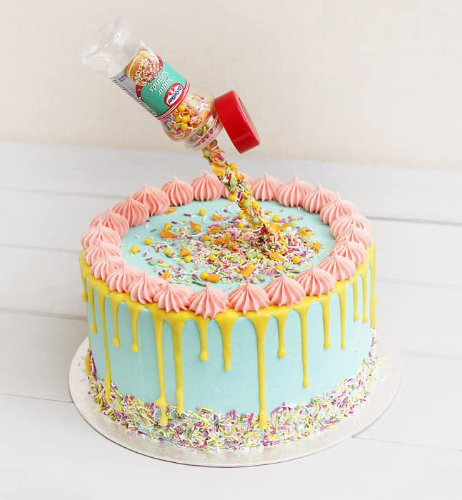 Gravity Cake - birthday cake decorating ideas