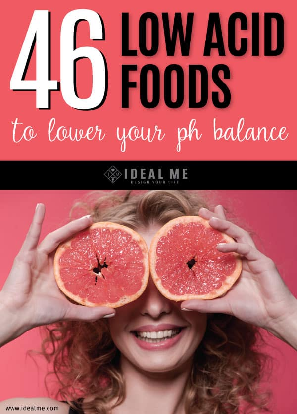 Eating too many acidic foods can disrupt the natural pH balance of our body. Consider lowering your intake of acidic foods with these 46 low acid food options.