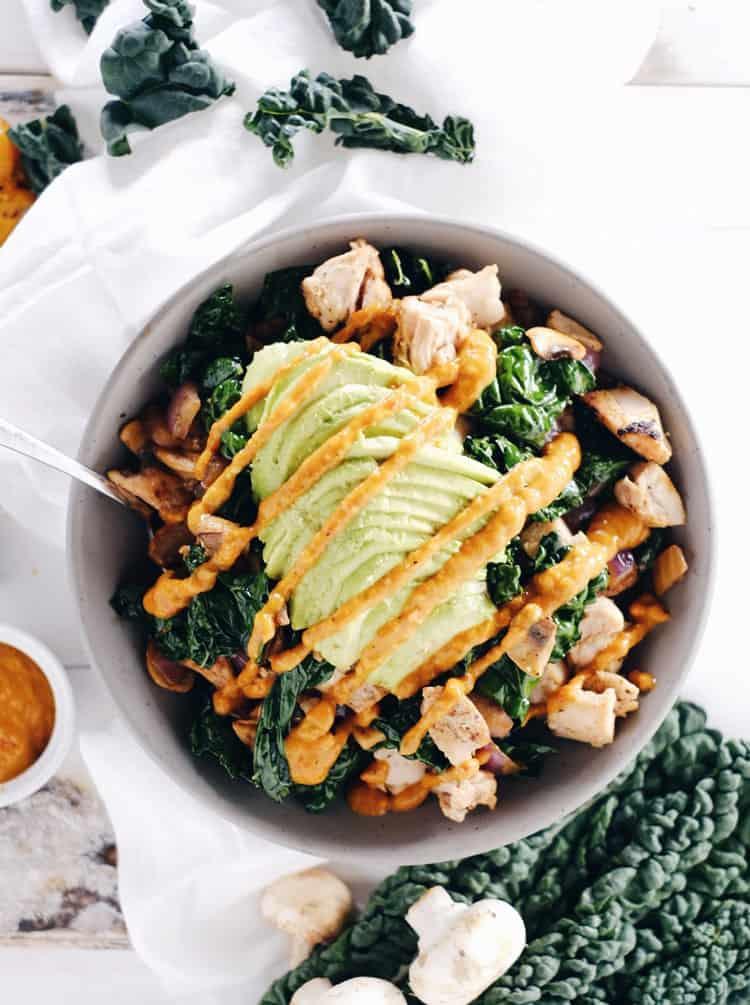 Paleo Chicken Bowl - quick paleo recipes