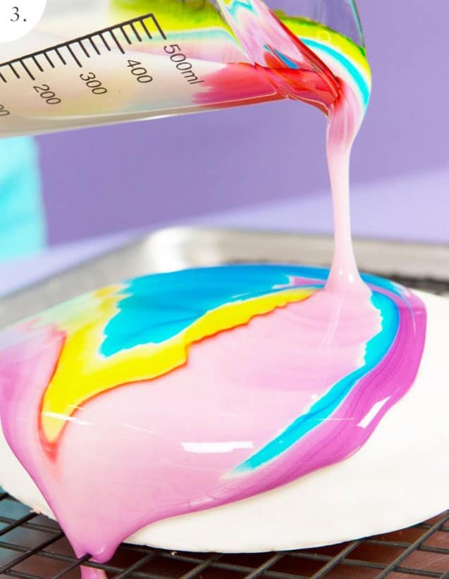 Tie-Dye - birthday cake decorating ideas