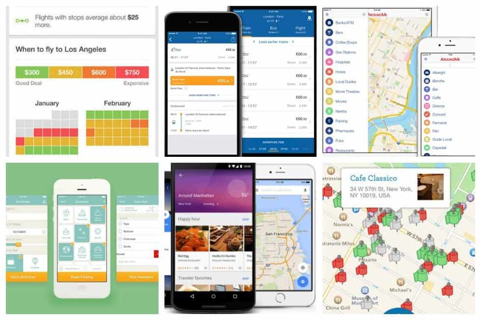 Apart from going online and reading up on other people's experiences and how you can avoid usual pitfalls, there are countless apps for travel that you can use.