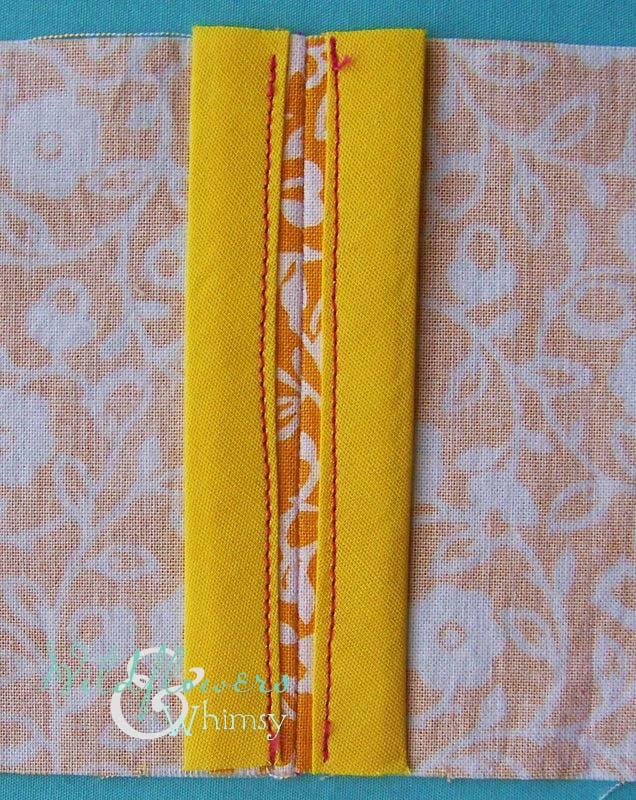 bias binding finished plain seam - sewing seams