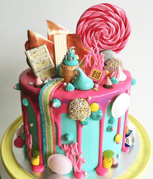 candyland cake - kids birthday cake ideas