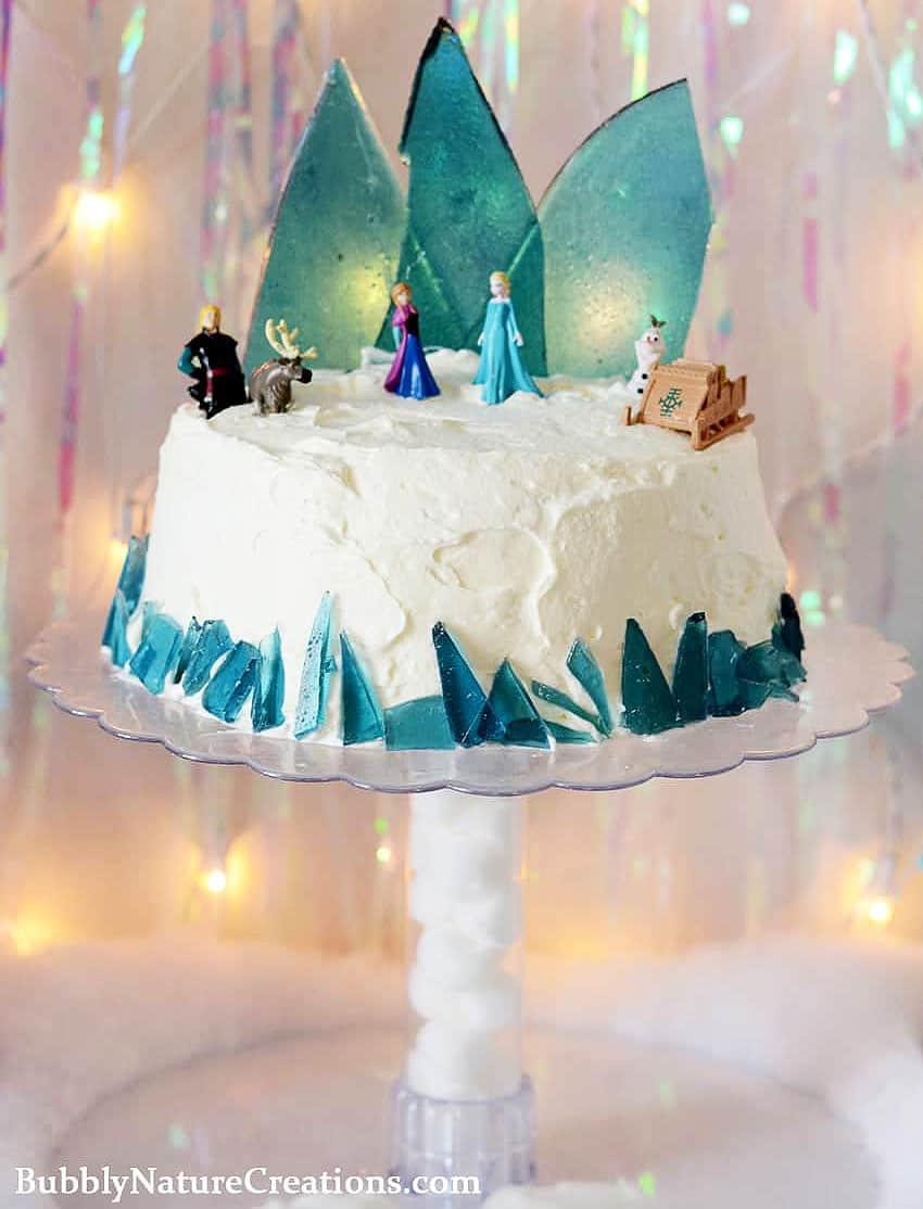 Disney Frozen Themed Ice Cream Cake