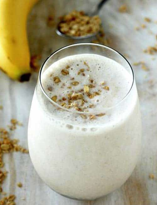honey banana smoothie - paleo smoothie ideas