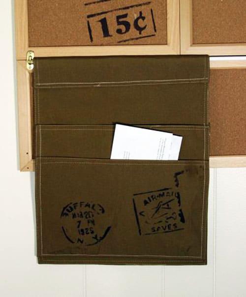 mail sorter - easy storage ideas