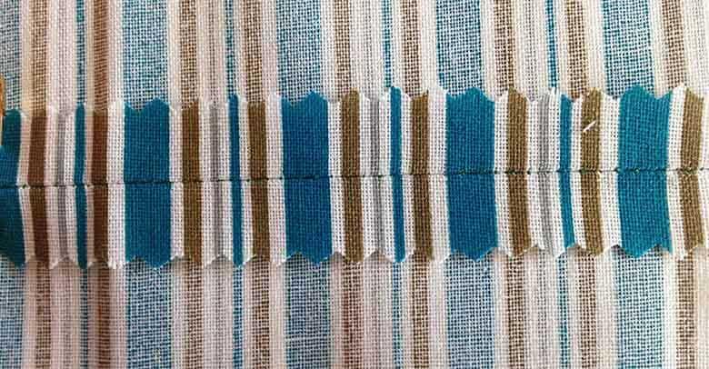 plain seam - sewing seams