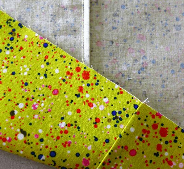 self-bound seam - sewing seams