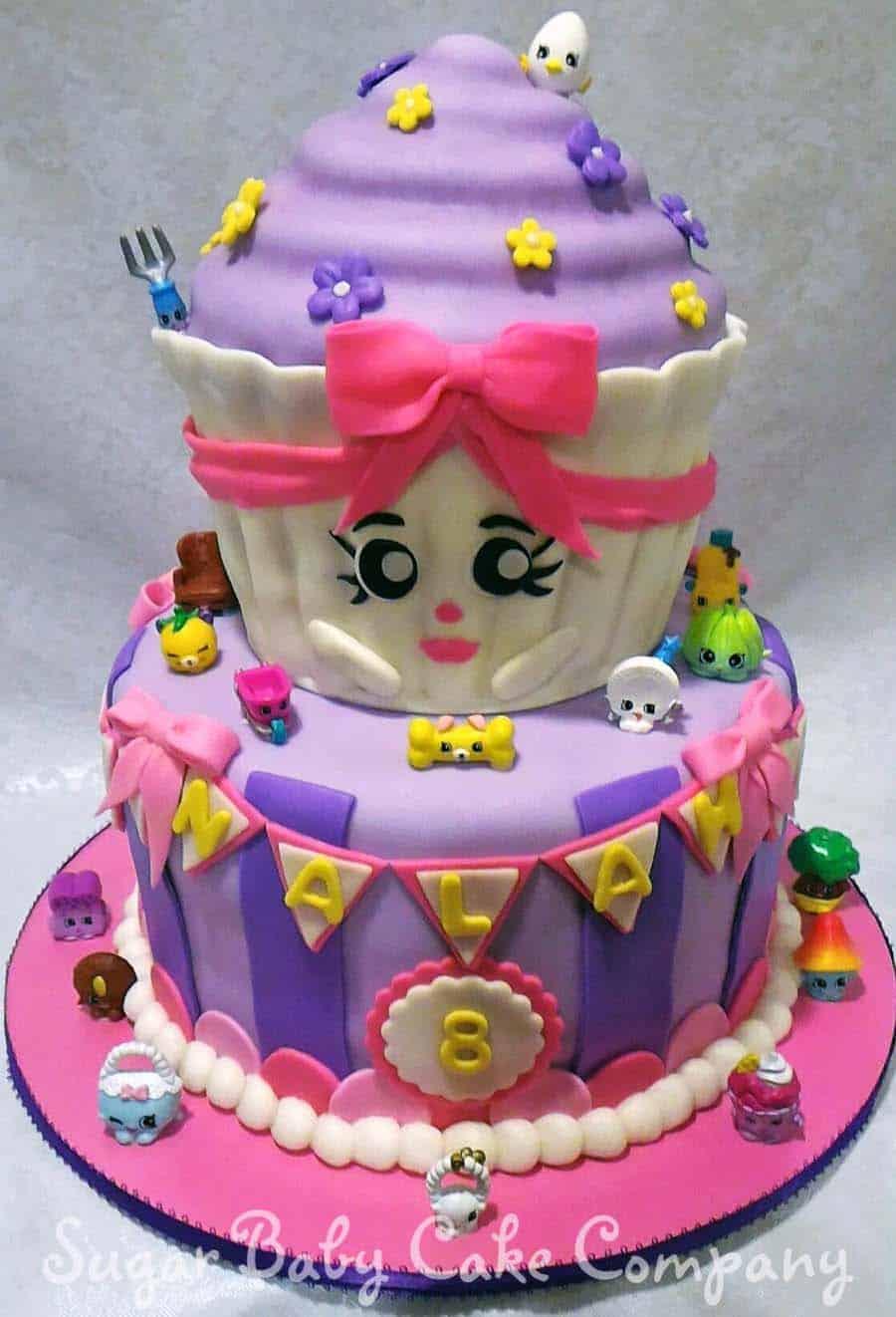 shopkins birthday cake - kids birthday cake ideas