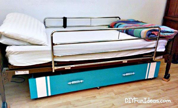 under the bed storage - easy storage ideas