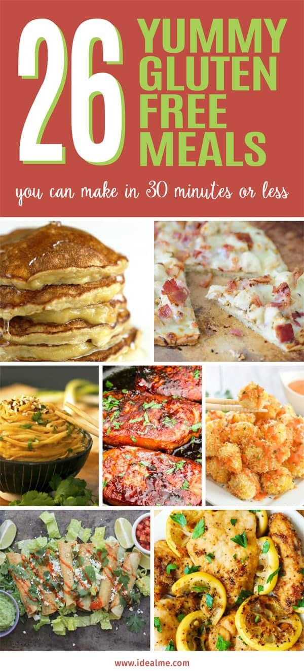 26 gluten free meals