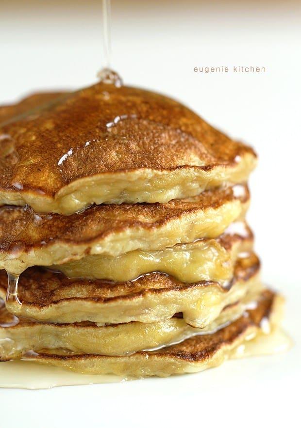3-Ingredient Banana Pancakes - gluten free meals