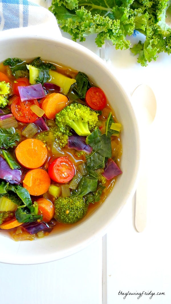 Cleansing Detox Soup - gluten free meals
