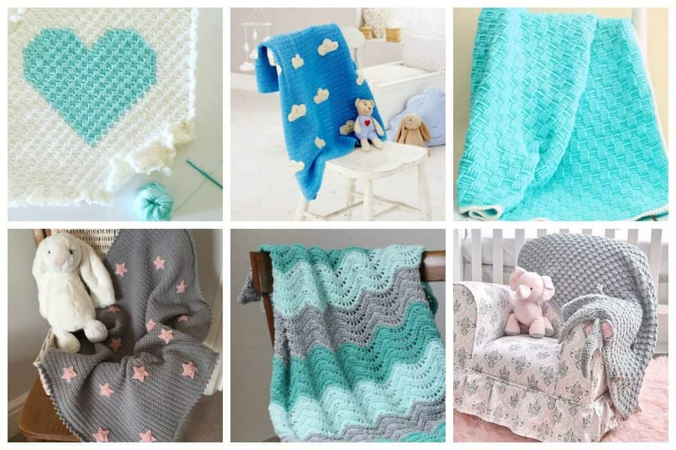 There are tons of fantastic free crochet baby blanket patterns out there but we've found these 18 adorable crochet baby blankets to brighten baby's nursery.
