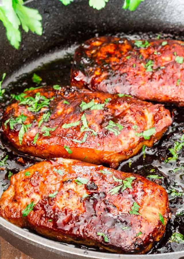Korean Style Pork Chops - gluten free meals