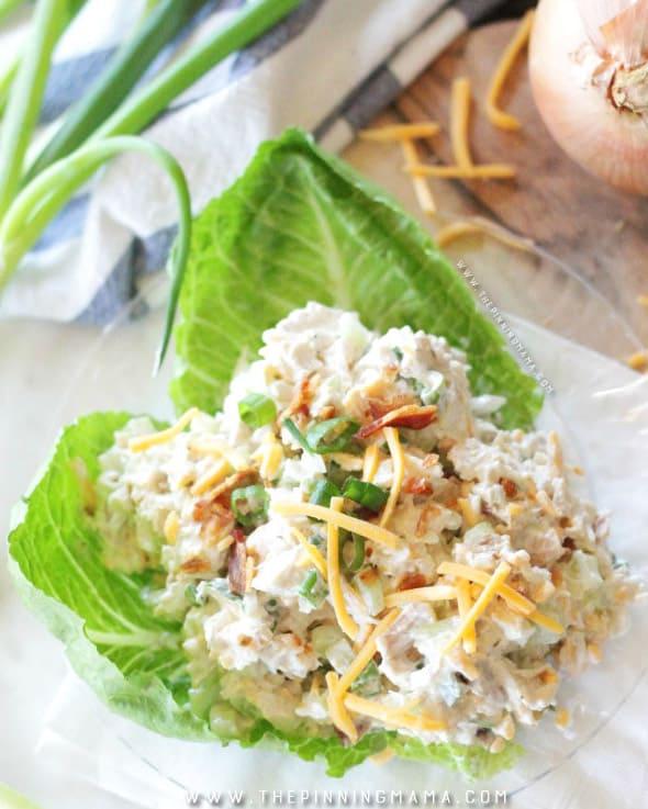 Loaded Chicken Salad - gluten free meals