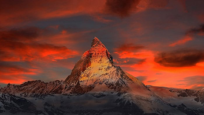 Matterhorn, Switzerland - places to travel in Europe