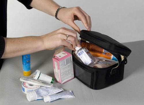 Medicine - travel packing list