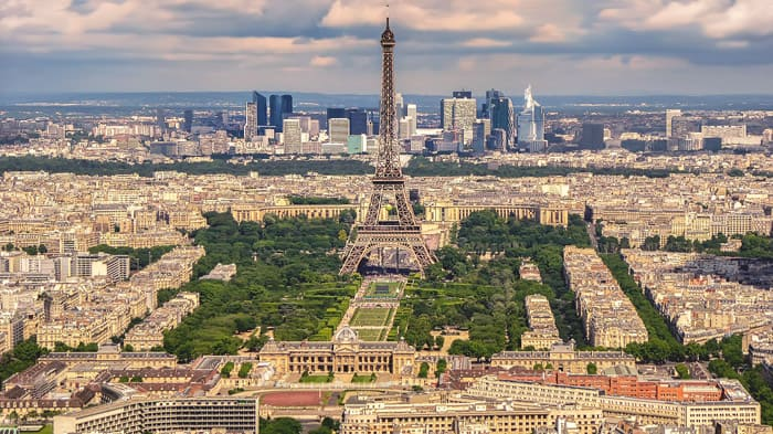 Paris, France - places to travel in Europe