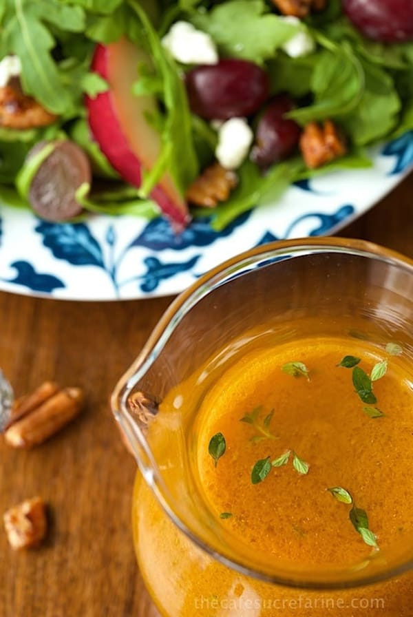 Pumpkin Maple Vinaigrette - paleo salad dressings