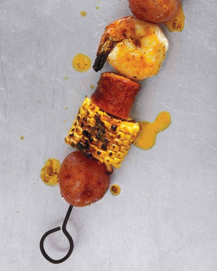 Shrimp-Boil Kebabs - gluten free meals