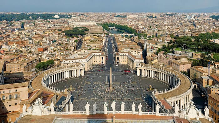 Vatican City - places to travel in Europe
