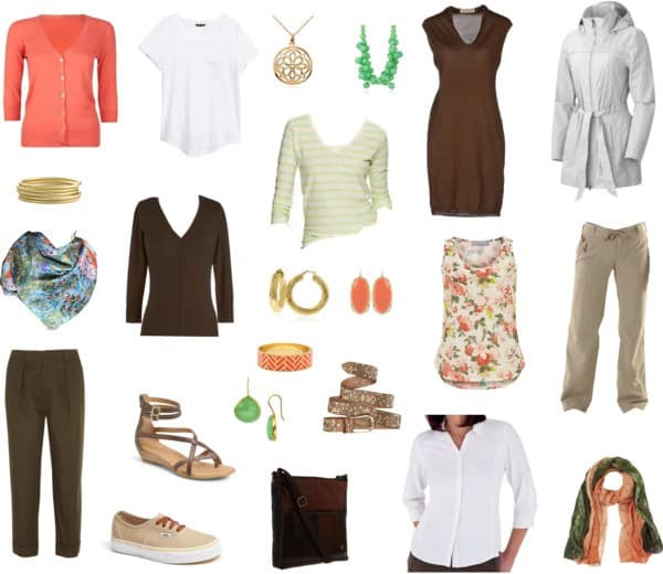 Wardrobe - travel packing list