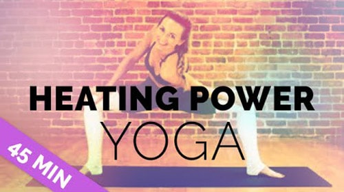 Heating Power Yoga - yoga flow