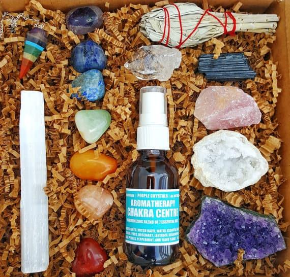 crystal kit - yoga gifts