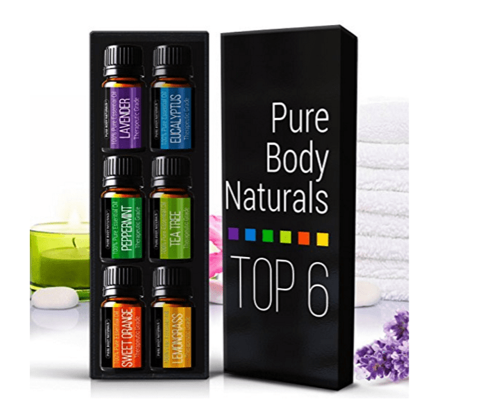essential oils - yoga gifts