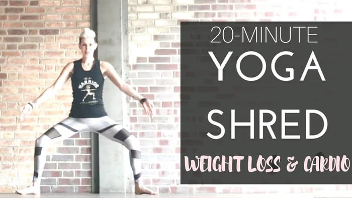 20 Minute Yoga Shred - yoga flow