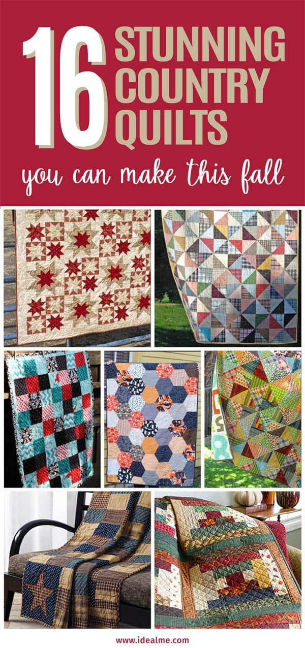 16 country quilts