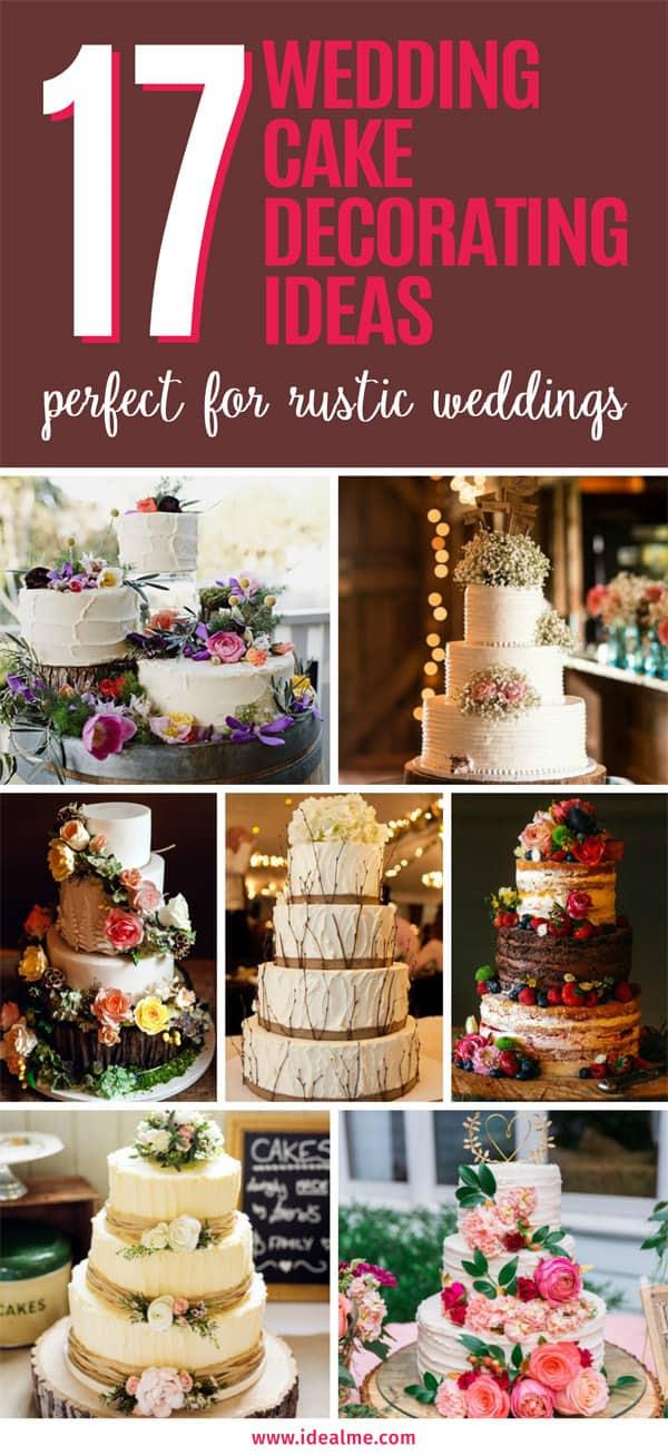 17 wedding cake decorating ideas