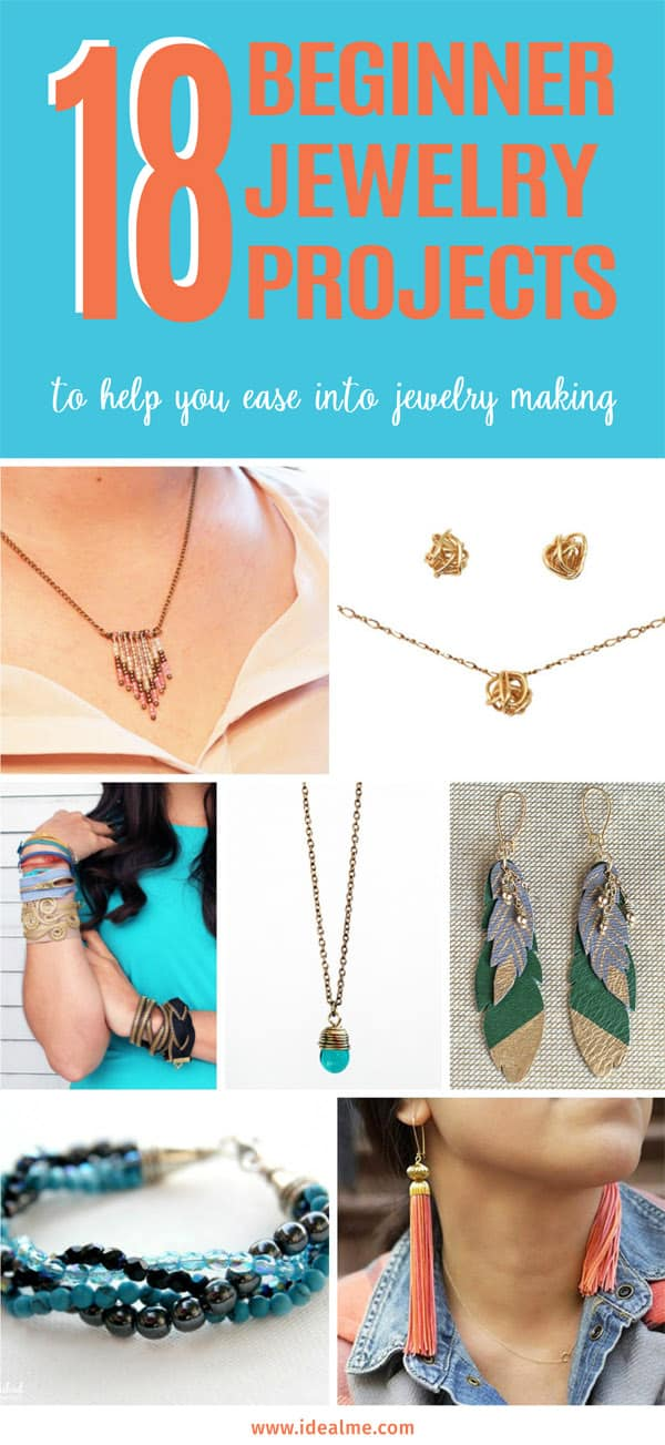 18 beginner jewelry projects