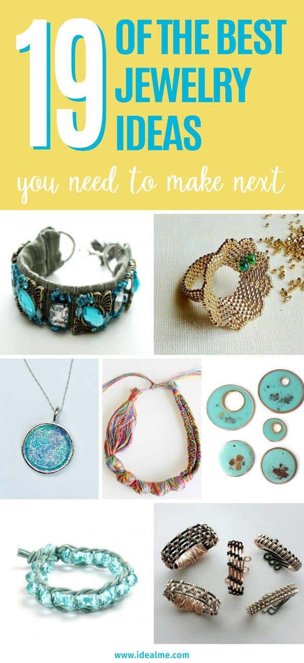 19 jewelry ideas