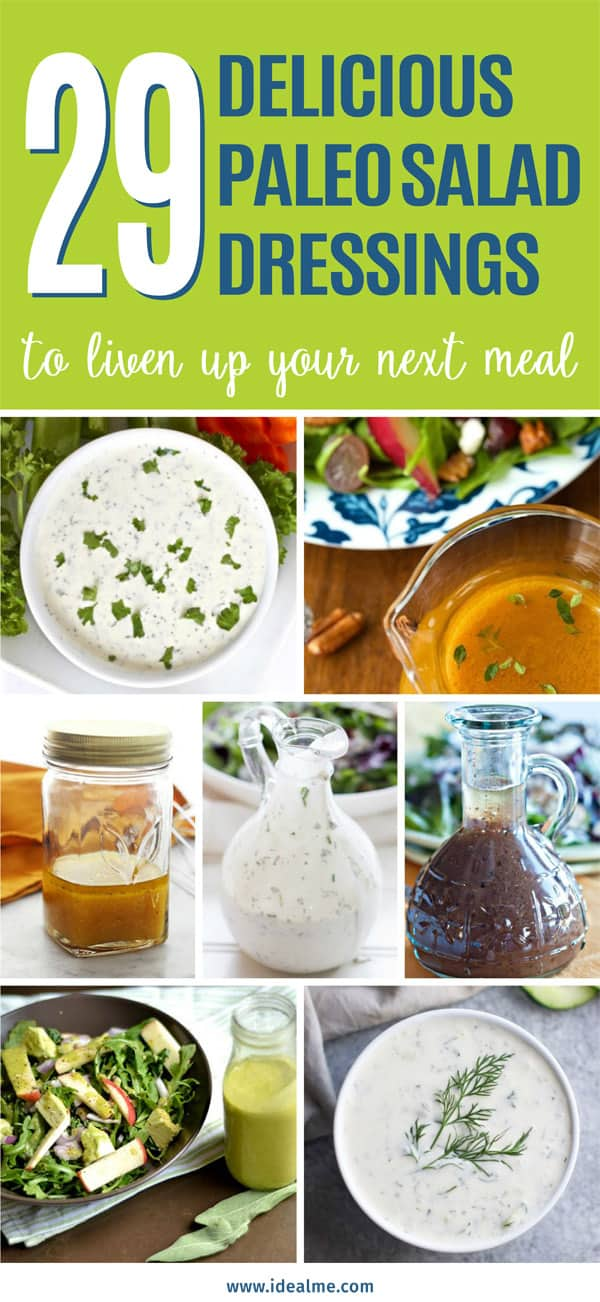 29 paleo salad dressings