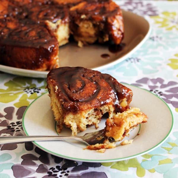 Bunner's Gluten-Free, Vegan Cinnamon Buns - gluten-free desserts