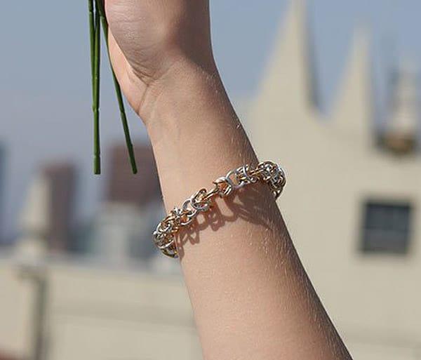 Byzantine Chain Bracelet - jewelry ideas